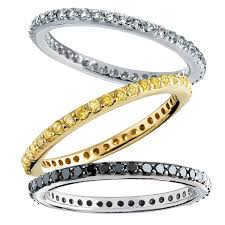 white eternity rings images 0 50ct diamond stacking eternity band in 14k yellow or white gold jpg