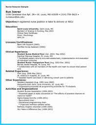 nursing resume objective resume objectives nursing peppapp new grad template sle