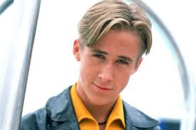 mens middle parting hairstyle studying the history of ryan gosling s hair part vulture