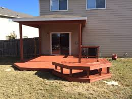 california rustic solid color deck stain another angle beautiful