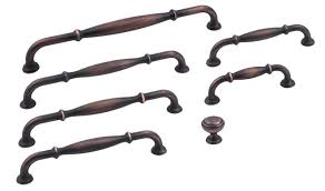 Oil Rubbed Bronze Cabinet Handles Brushed Oil Rubbed Bronze Finish Tiffany Series Decorative