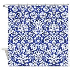 cheap blue damask shower curtain find blue damask shower curtain
