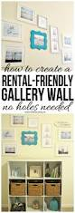 how to create a rental friendly gallery wall