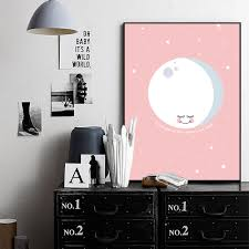 aliexpress com buy modern nordic home decor kawaii poster