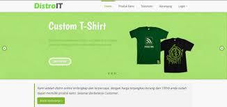 membuat website bootstrap membuat toko online sederhana dengan php mysql dan bootstrap