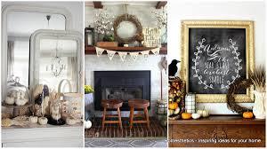 diy fall mantel decor ideas to inspire landeelu com ideas on how to add fall decor to your mantel homesthetics