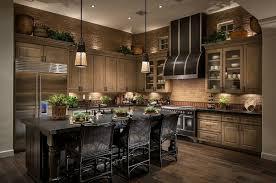 marron cuisine design d intérieur cuisine bois moderne marron design idee