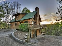 Vacation Cabin Rentals In Atlanta Ga Dancing Bear Cabin Rental Perched Atop Homeaway Cherry Log