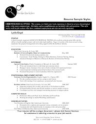 Resume Employment History Sample by 2016 Resume Templates Resume Samples