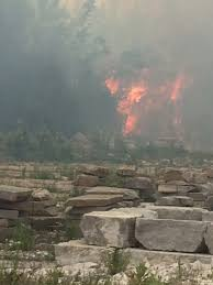 Fire Evacuation Plan Manitoba by Brush Fire In Ramara Township Contained But Winds Still Pose A