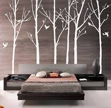 Cherry Blossom Tree Wall Decal For Nursery Nursery Tree Wall Stickers Tree Branch Decal White Tree Sticker
