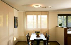Modern Conference Room Design by Beige Painted Meeting Room Wall With Rectangle Oak Wood Meeting