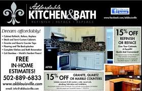 One Stop Kitchen And Bath by Cabinetry Affordable Kitchen And Bath