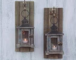 Rustic Wall Sconces Rustic Wall Sconces Etsy