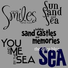themed sayings pin by on sea themed decorations scrapbooks