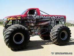 blue thunder monster truck videos terminator monster truck things i want pinterest monster