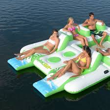 Inflatable Raft Swimming Pool Ocean Float Water Raft Sumner