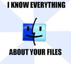 Meme Finder - the mac finder meme by denigirl on deviantart