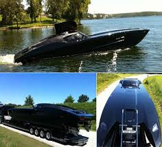 corvette boat corvette speed boat with a designer trailer would cost you 1 7