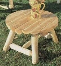 Log Outdoor Furniture by Log Benches Foter