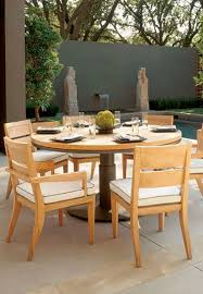 Sutherland Outdoor Furniture Contemporary Garden Chair With Armrests Walnut Peninsula By