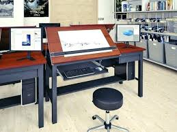 Large Drafting Tables Ergonomic Standing Desk With Drawers Photos Stand Up Drafting