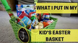 easter basket ideas 2017 youtube