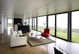 Long Narrow Living Room Ideas by Black And White Color Scheme With Red Touch For Long Narrow Living