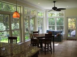 Sunroom Dining Room Ideas Kitchen Renovation And Sunroom Addition Traditional Dining