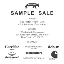 carhartt black friday sale westerlind sample sale starts tomorrow they will have outdoor