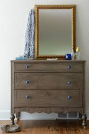 Nightstands With Mirrored Drawers Bedroom Extraordinary 6 Drawer Dresser Black Nightstand Mirrored