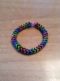 bracelet color bands images Diamond ridge bracelet pinterest rainbow loom fishtail and jpg