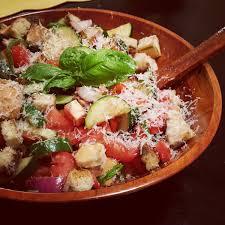 episode 4 of skg tv grilled panzanella salad