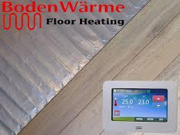 electric underfloor heating mats laminate meze