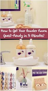 Guest Powder Room How To Get Your Powder Room Guest Ready In 5 Minutes A Grande Life