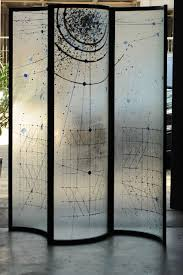 screen room divider glass voyeur screen room divider by fiam for sale at 1stdibs
