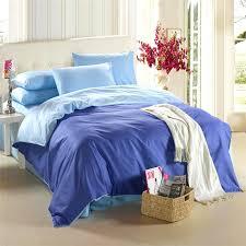 Double Bed Duvet Size Royal Blue Bedding Set King Size Queen Quilt Doona Duvet Cover