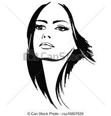 woman clipart pretty lady pencil and in color woman clipart