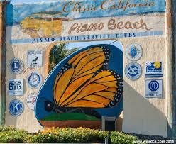 Monarch Migration Map Pismo Beach Monarch Butterfly Grove Weird California