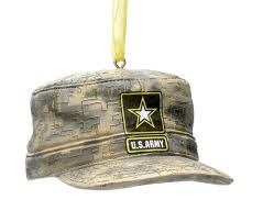 kurt adler u s army acu cap ornament home