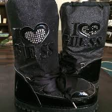 guess s boots sale best guess moon boots for size1 for sale in mooresville