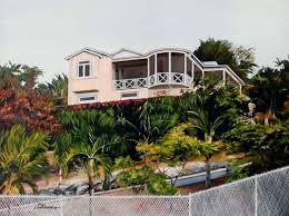 house portraits barbadian art at its best