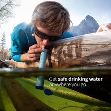 amazon com lifestraw personal water filter for hiking camping