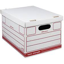 office depot brand economy storage boxes 15 x 12 x 10 letterlegal