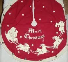 vintage tree skirt by grovefair on etsy holidays