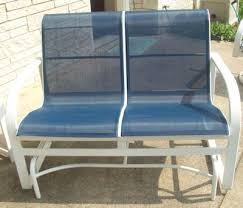 Re Sling Patio Chairs Patio Sling Fabric Replacement F8 217 Navy Textilene 80