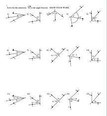 Interior And Exterior Angles Worksheet Worksheet Angle Addition Worksheet Fiercebad Worksheet And Essay