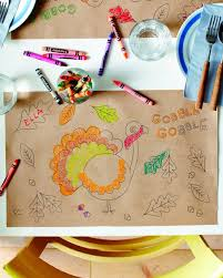 wonderful 8 festive free printable thanksgiving placemats