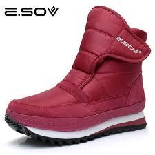 womens boots size 11 1 2 esov plus size35 45 boots waterproof platform fur