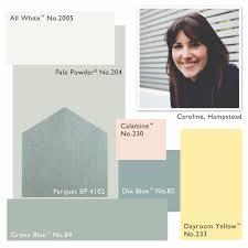 farrow and ball colour scheme pale powder calamine dayroom